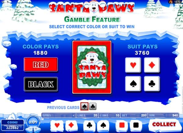 santa paws slots casino play