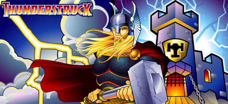 Thunderstruck slots Mega Reel
