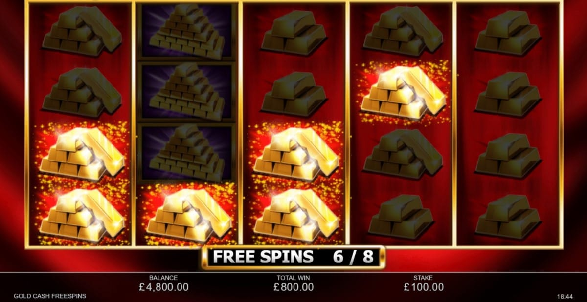 Gold Cash Free Spins Slot Online