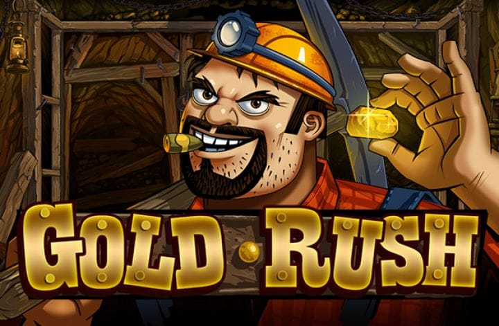 Gold Rush Free Spins Casino Game Logo