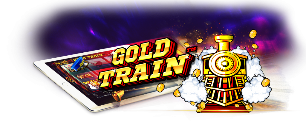 Gold Train Slot logo Mega Reel