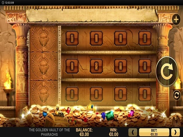 Golden Vault of the Pharaohs Gameplay