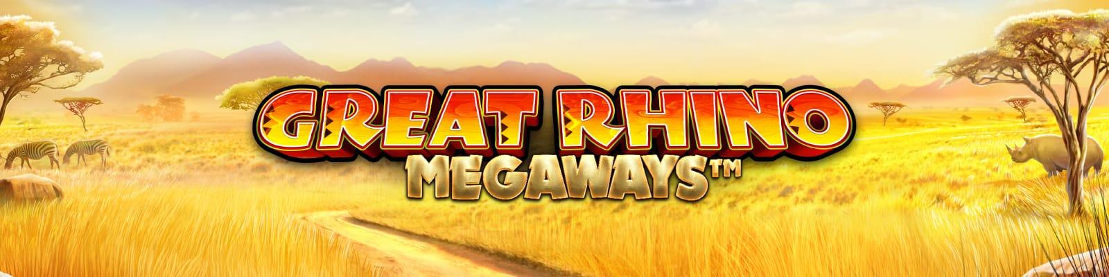 Great Rhino Megaways Mega Reel