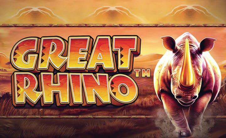 Great Rhino Slot Logo Mega Reel