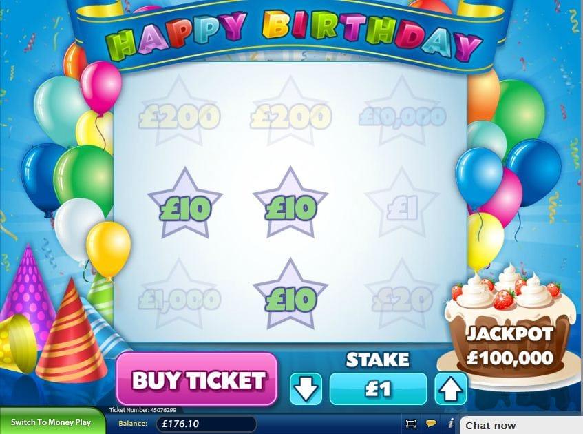 Happy Birthday Jackpot Slot UK