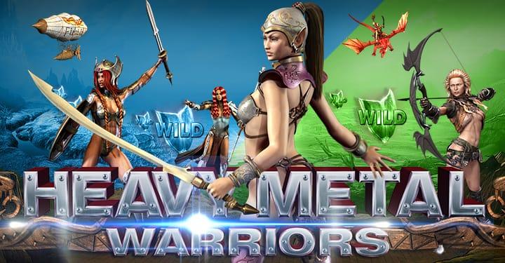 Heavy Metal Warriors Slot Mega Reel