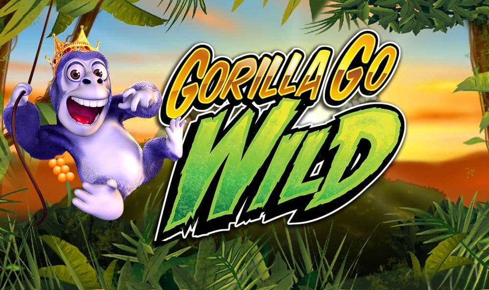 Gorilla Go Wild Slot Logo Mega Reel