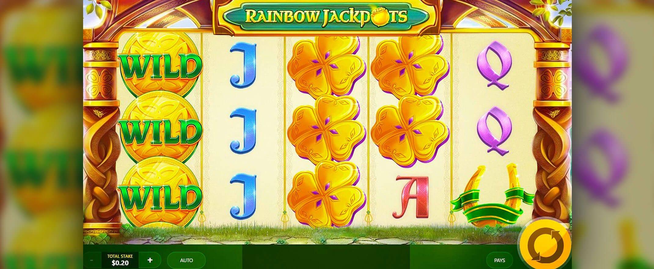 Rainbow Jackpots Casino Game