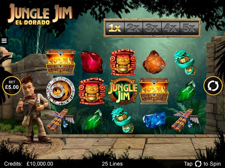 Jungle Jim - El Dorado Casino Slot