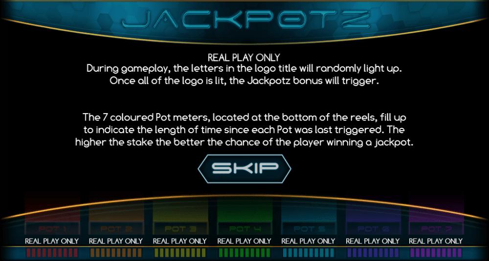 Jackpotz Slot Casino Game