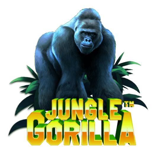 Jungle Gorilla Slot Logo Mega Reel