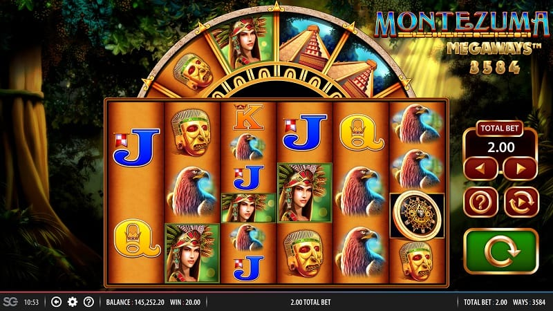 Montezuma MegaWays Slots Game