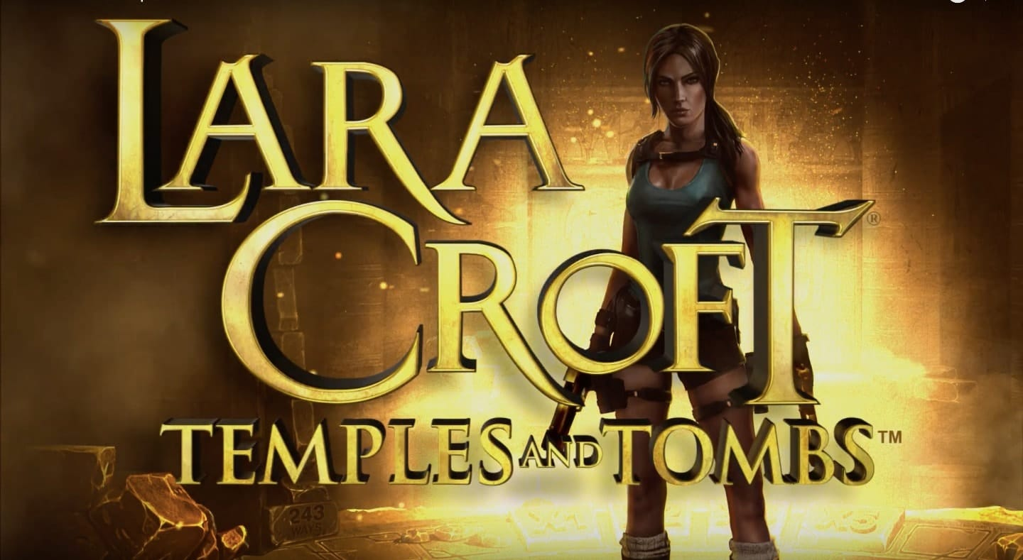 Lara Croft Temples and Tombs slot Logo