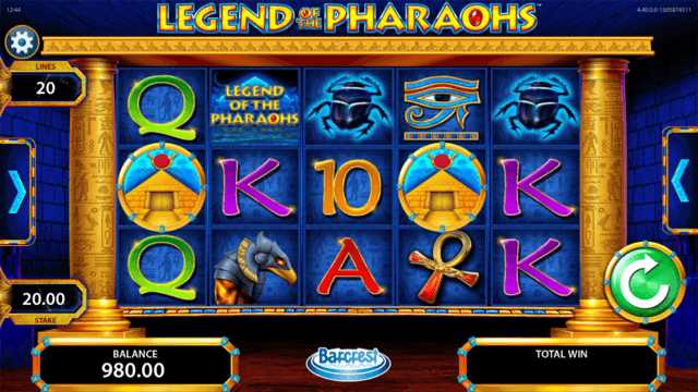 Legend of the Pharaohs Slots UK