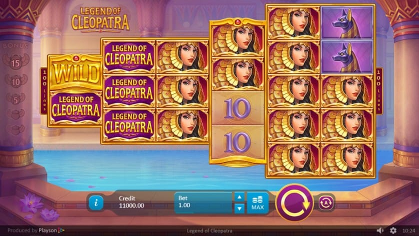 Legends of Cleopatra Slots Wild