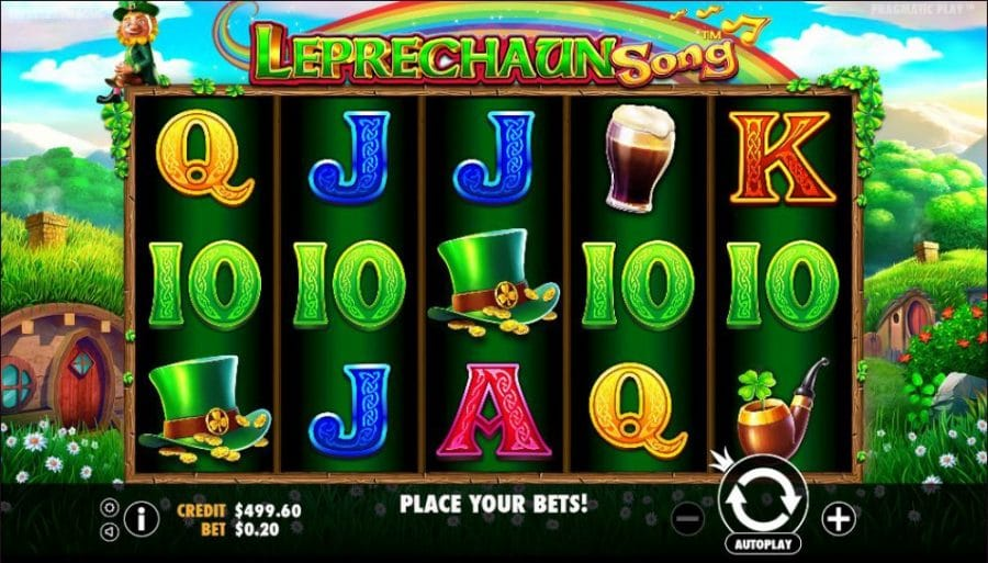 Leprechaun Song Game Play