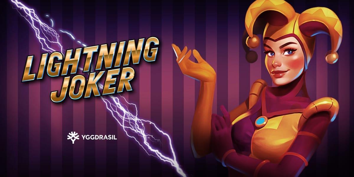 Lightning Joker Slot Logo Mega Reel