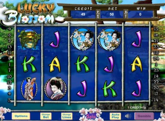 Lucky Blossom Free Slots