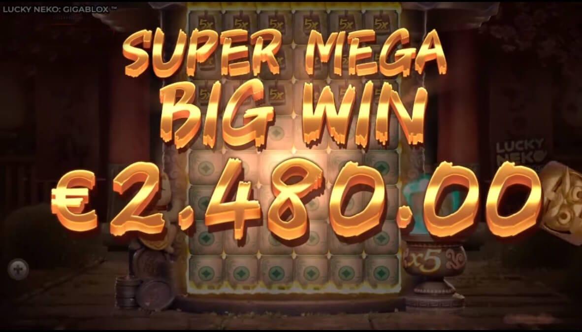 Lucky Neko Slot mega Win