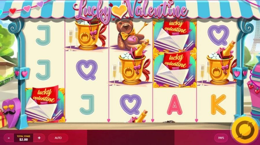 Lucky Valentine Free Slots