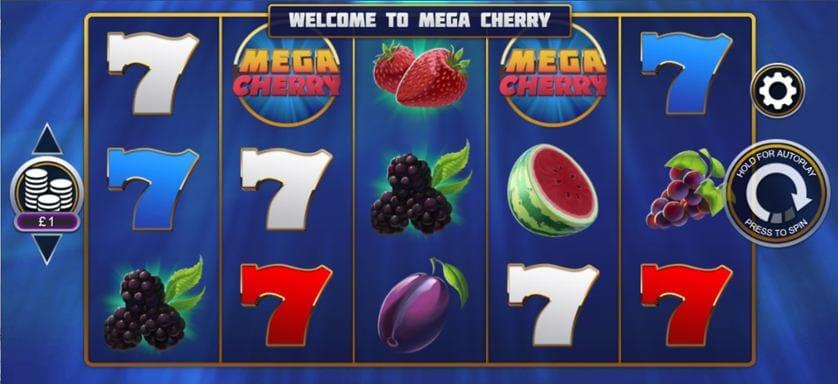 Mega Cherry Slot Gameplay