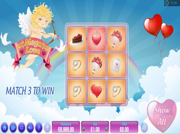 Mega Love Slot Game