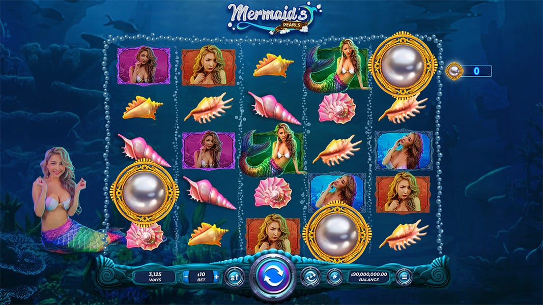 Mermaids Pearl Slots UK