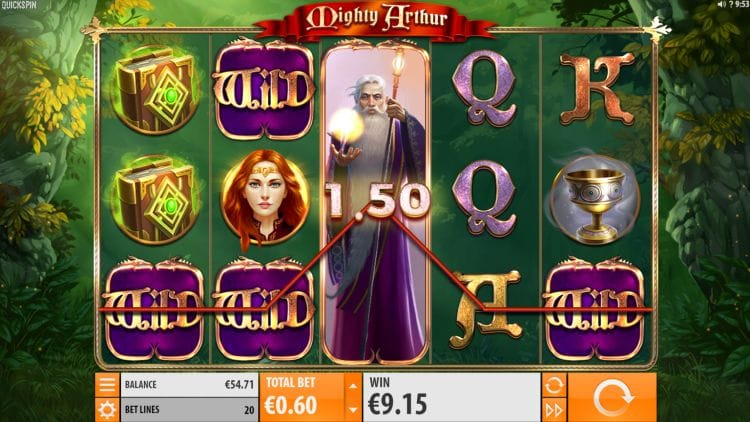 Mighty Arthur Casino Game