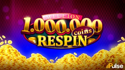 Million Coins Respin Slots Mega Reel