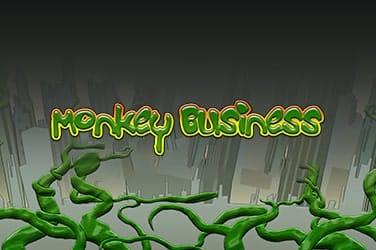 Monkey Business Slot Logo Mega Reel