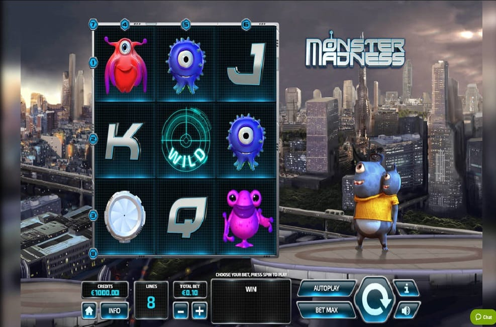 Monster Madness Casino Games