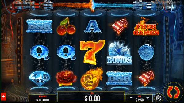 Fire vs Ice Slot Mega Reels
