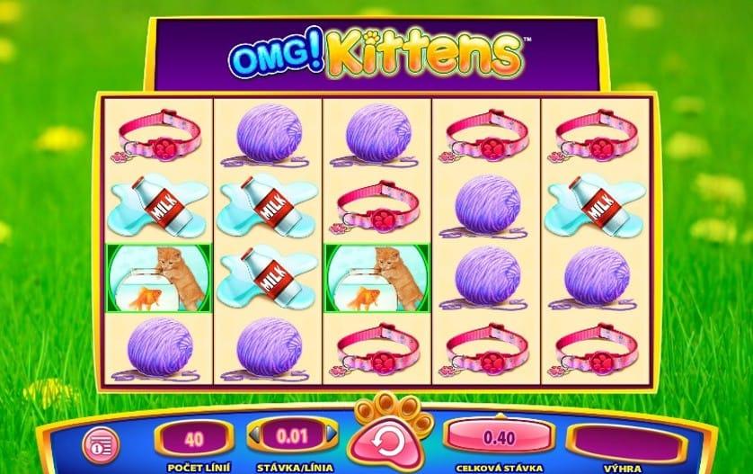 OMG! Kittens Slots Game