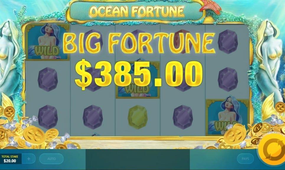 Ocean Fortune Slot Big Fortune
