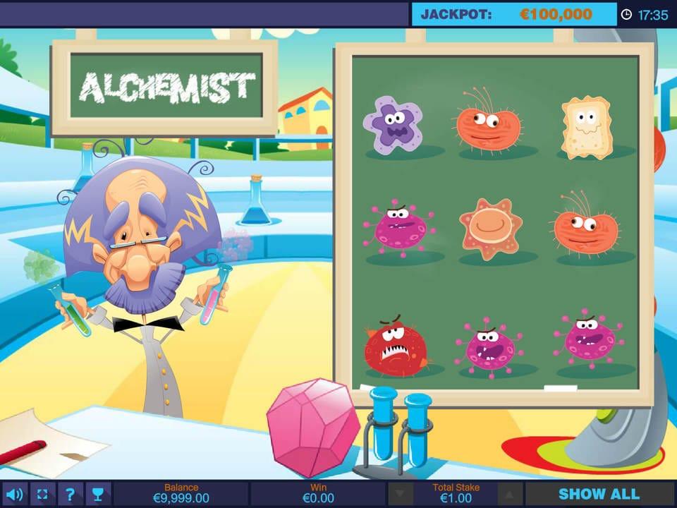 Alchemist Slots