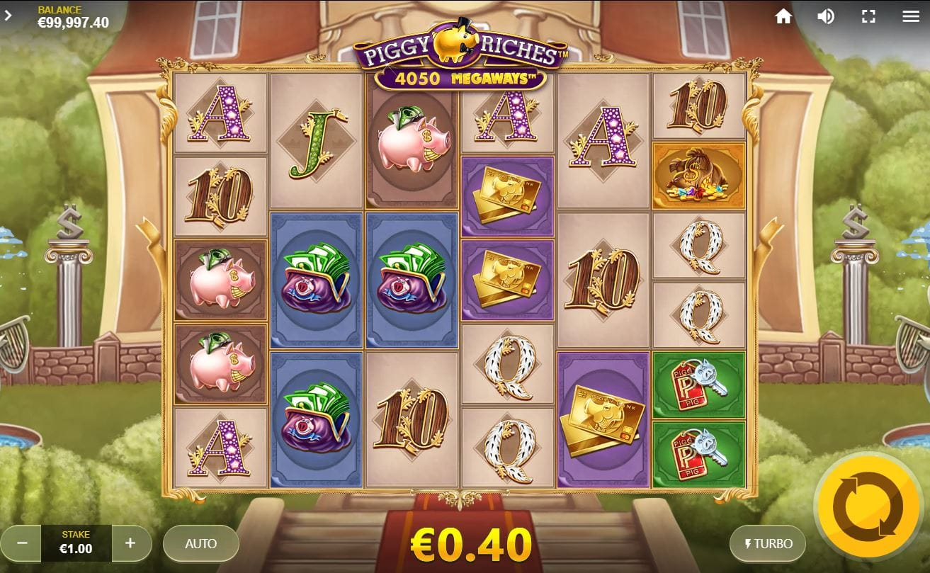 Piggy Riches Megaways Slots UK