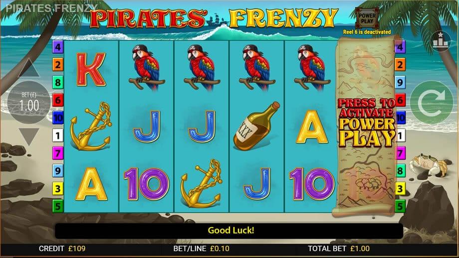Pirates Frenzy Online Slot Game Bonus