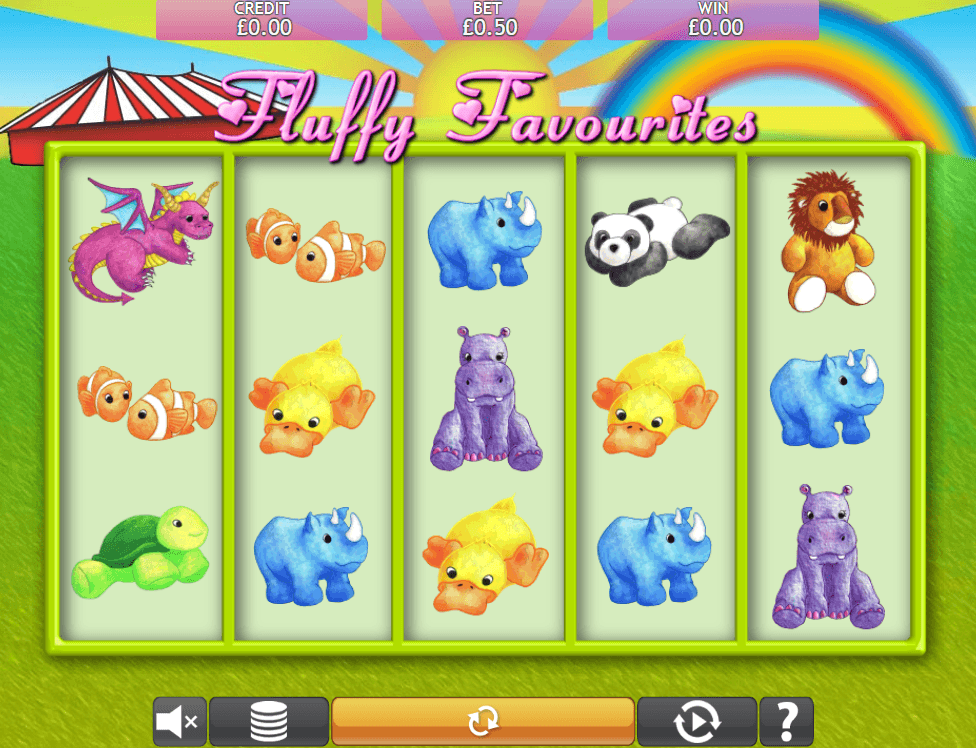 Fluffy Favourites Slot Machine