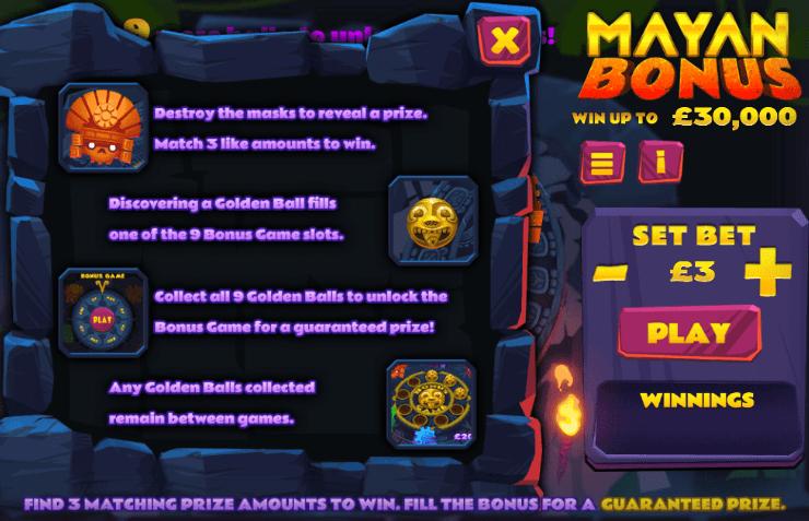 Mayan Bonus Description
