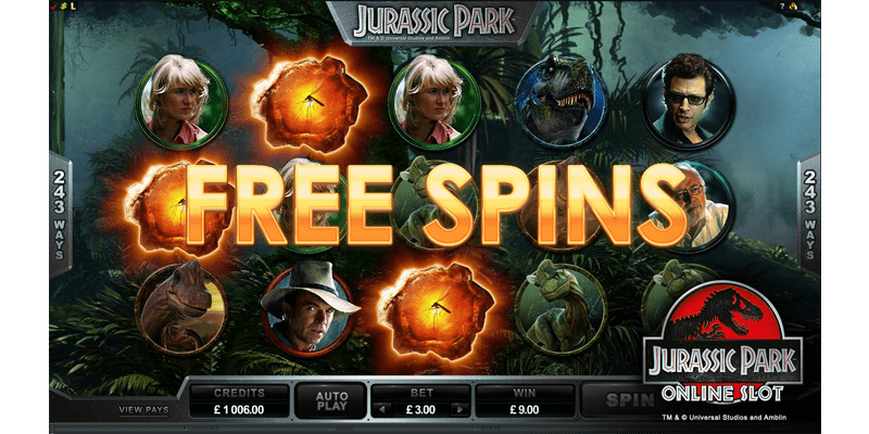 Free spin offerings