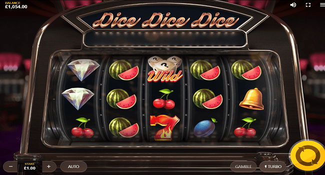 Dice Dice Dice slot Game Play