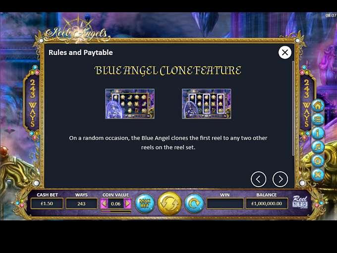 Reel Angels Slot Bonus Features
