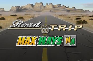 Road Trip Max Ways Slot Logo Mega Reel
