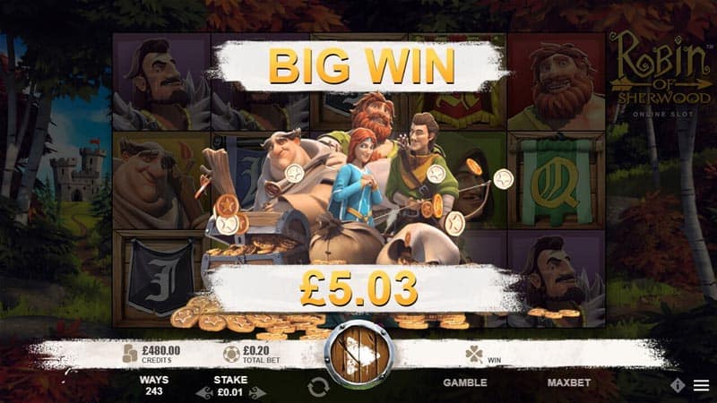 Robin of Sherwood Slots Online