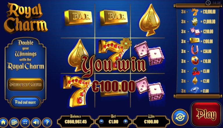 Royal Charm Casino Games