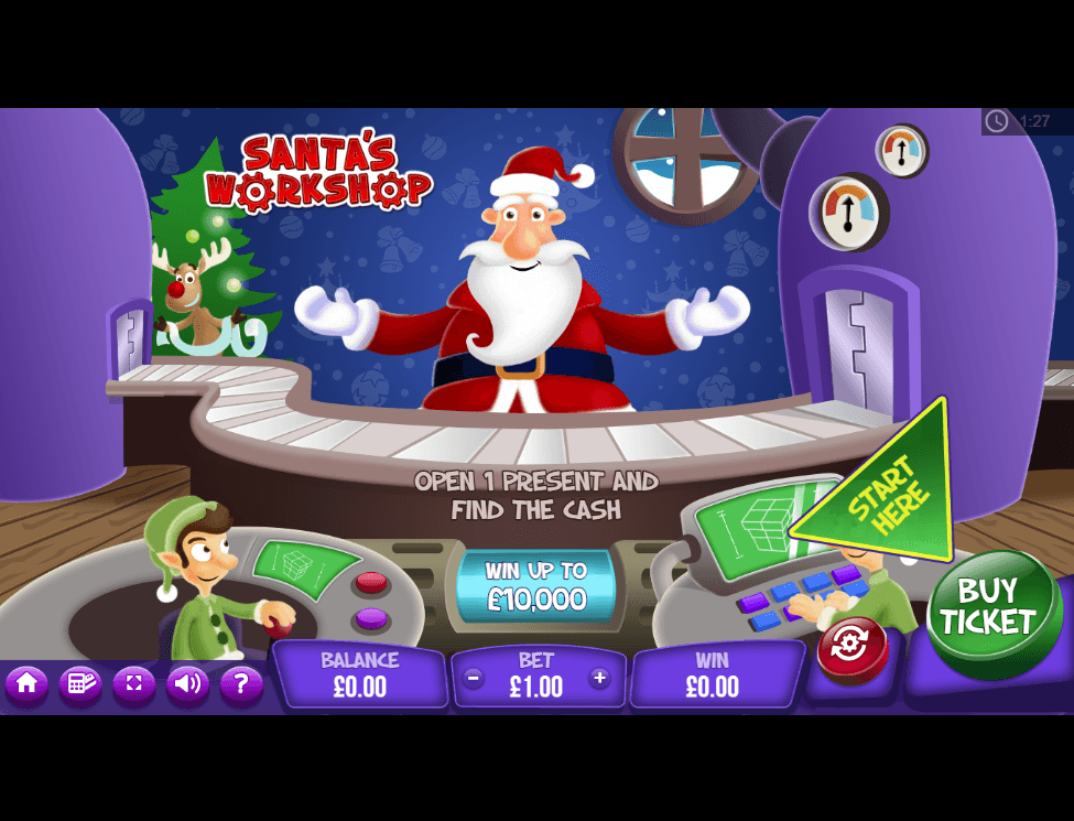Santa's Workshop Slots UK