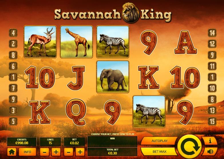 savannah king game online play casino