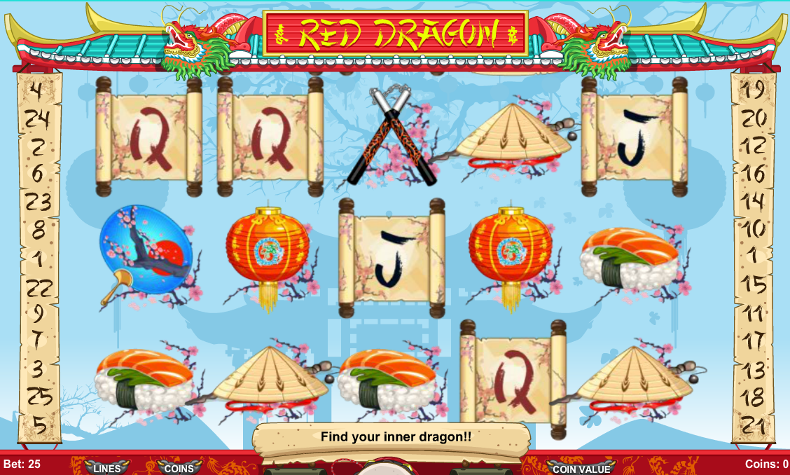red dragon game play online