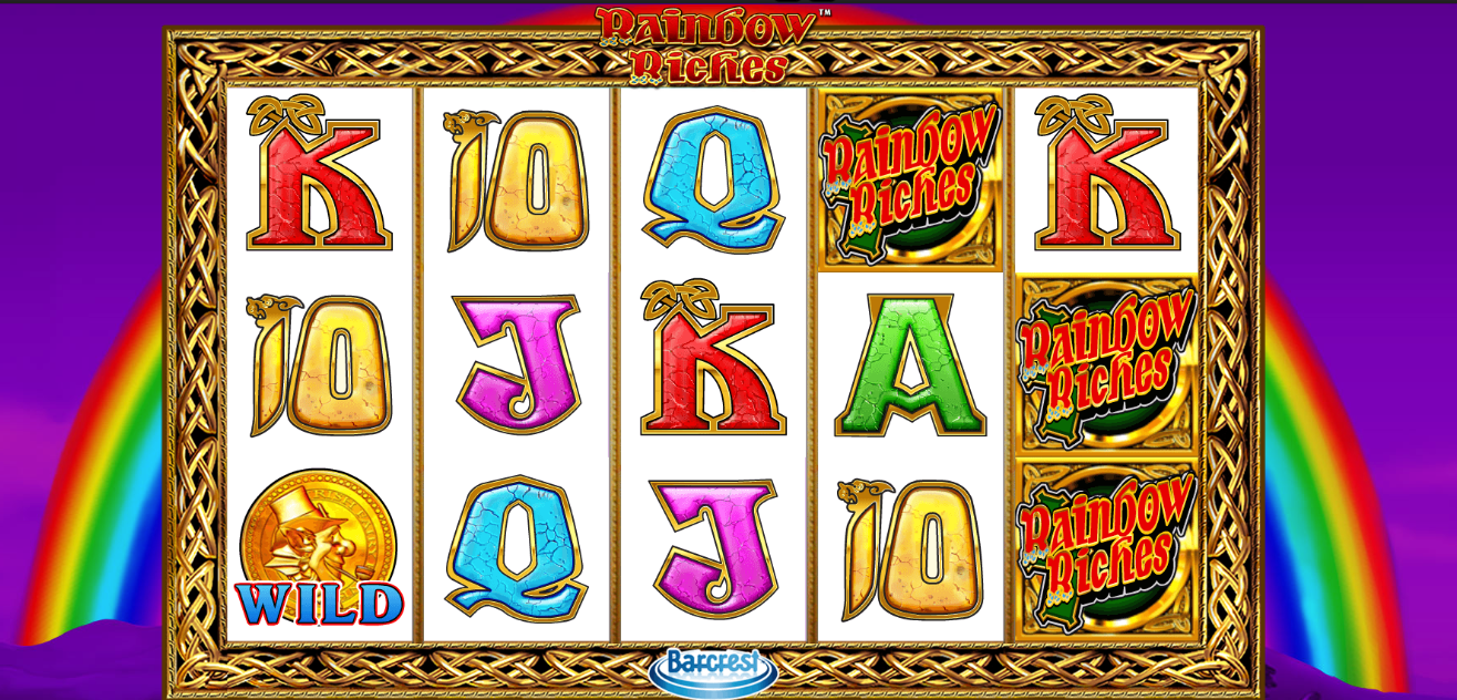 rainbow riches slots game