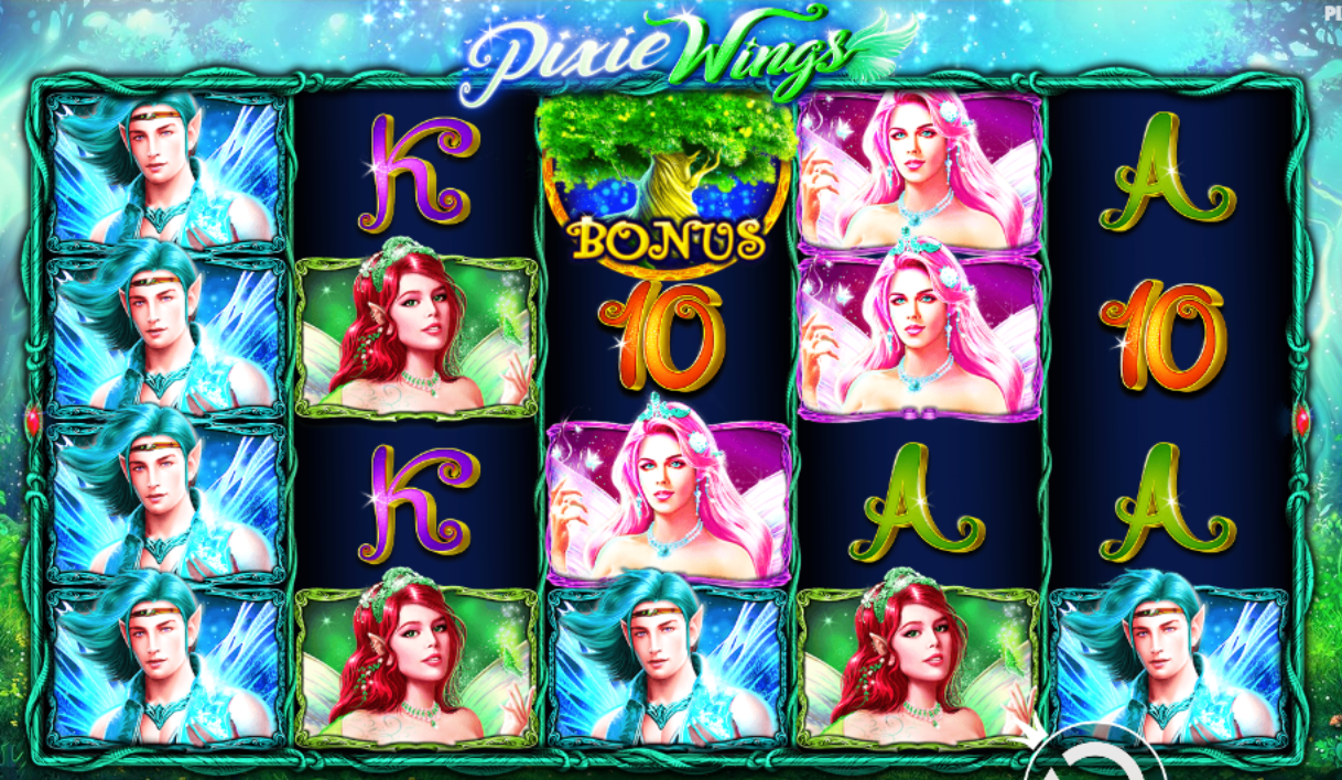 pixie wings online casino game